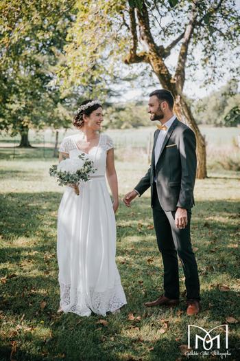 mathilde millet, photos de mariage, lons le saunier